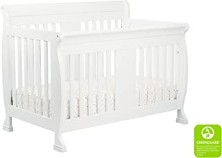 DaVinci Porter 4-in-1 Convertible Crib with Toddler Bed Conversion Kit in White | Greenguard Gold Certified