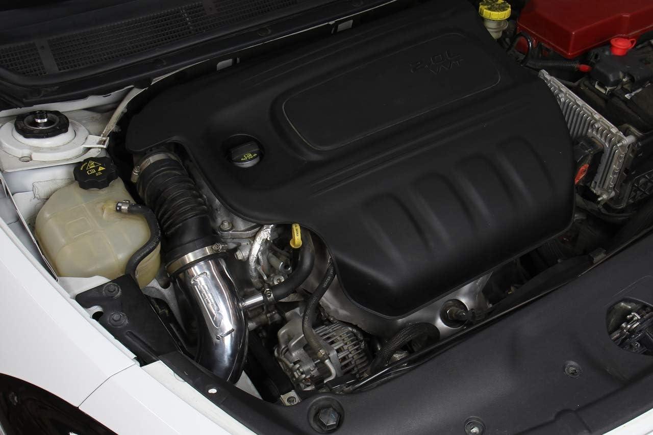 1 Pack HPS Performance 837-689WB Black Cold Air Intake Kit Cool Ram CAI