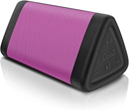 Cambridge Soundworks OontZ Angle 3 (3rd Gen) - Bluetooth Portable Speaker, Louder Volume, Crystal Clear Stereo Sound, Rich Bass, 100 Foot Wireless Range, Microphone, IPX5, Bluetooth Speakers (Pink)