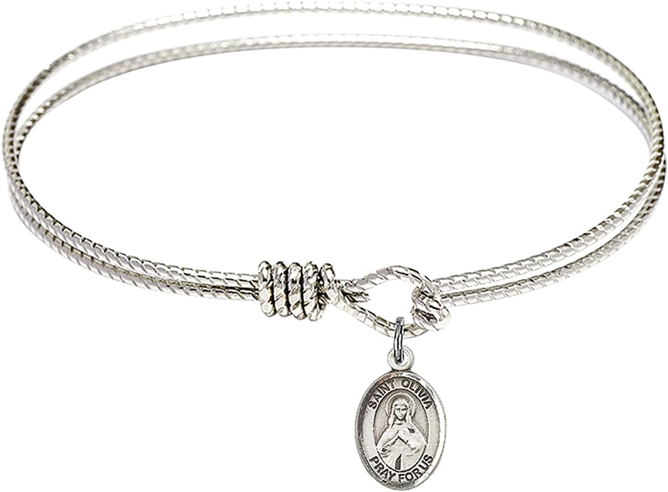 Bonyak Jewelry Oval Eye Hook Popular products Bangle St. Bracelet Max 81% OFF Ste w in Olivia