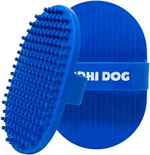 Bodhi Dog New Grooming Pet Shampoo Brush | Soothing Massage Rubber Bristles Curry Comb for Dogs & Cats Washing | Professio...