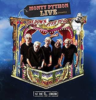 Monty Python Live (Mostly) - One Down Five To Go - Blu-ray, DVD & CD Version