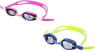 Sports Vision World Prescription Swimming Goggles Minus & Plus Powers for Children Kids Pink & Blue