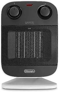 Calefactor DeLonghi, con tecnología de cerámica (2000W), color negro/gris