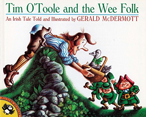 Tim O'Toole and the Wee Folk (Picture Puffin Books) (Paperback)
