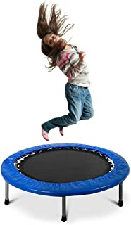 PEXMOR Mini Trampoline Foldable & Portable for Adults and Kids, 38