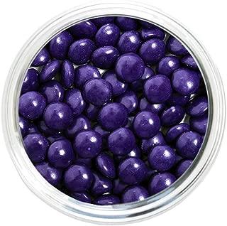 Candy Coated Chocolate Gems - Purple (2.5 lb bag)