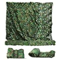 Sposuit Camo Net Camouflage Netting 10 x 20ft - Camouflage Military Nets, Covering Hunting Shooting Blind, Surplus Party Supplies Decorations
