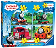 Ravensburger Thomas & Friends My First Jigsaw Puzzles (2, 3, 4 and 5 Piece) Educational Toys for Tod...