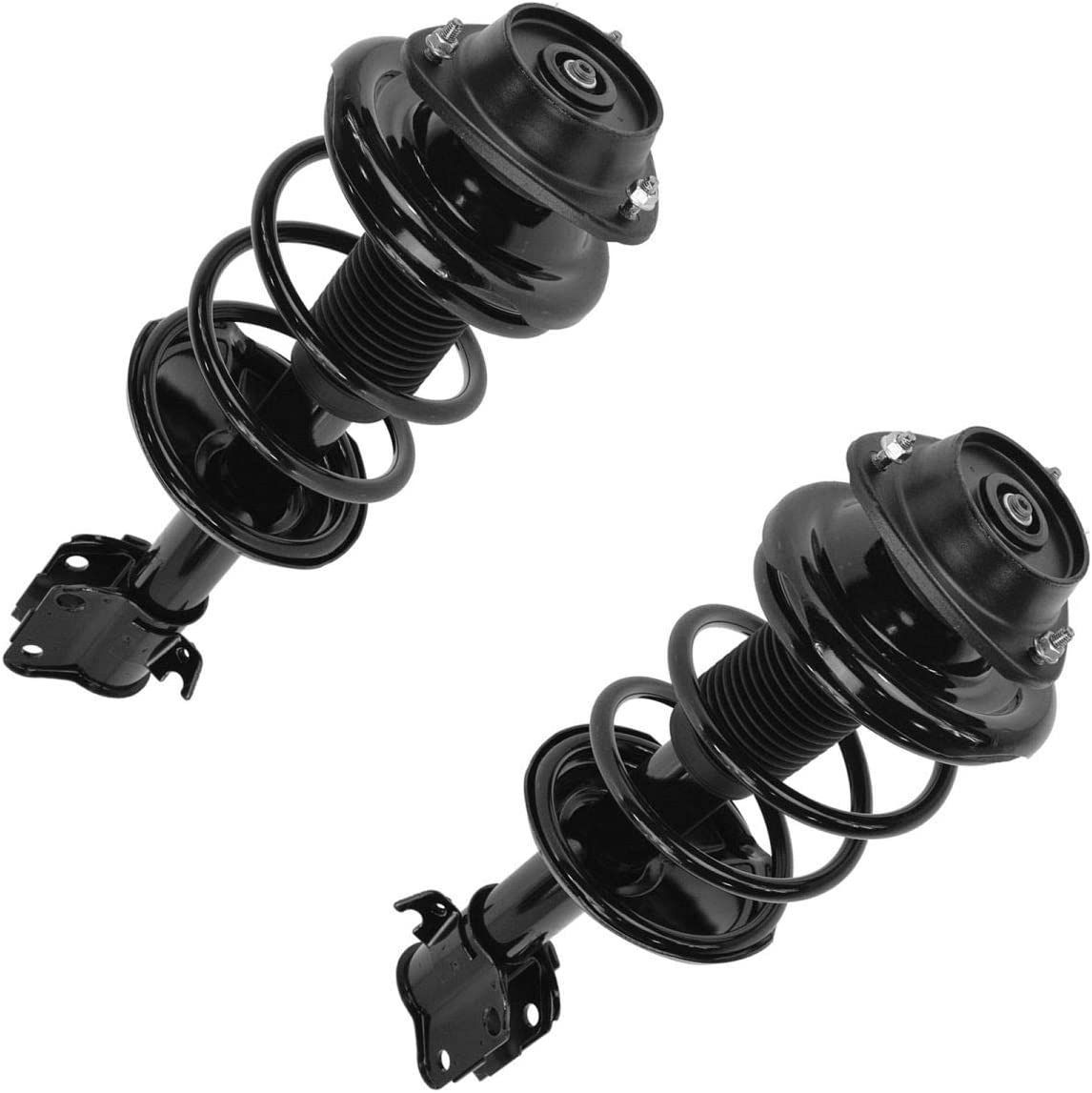 Kucaruce 2pcs Front Side Fresno Mall Complete Fixed price for sale Compatib Strut Springs Shock