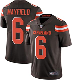 16c1eb416 Men s  6 Cleveland Browns Baker Mayfield Brown Limited Stitch Jersey