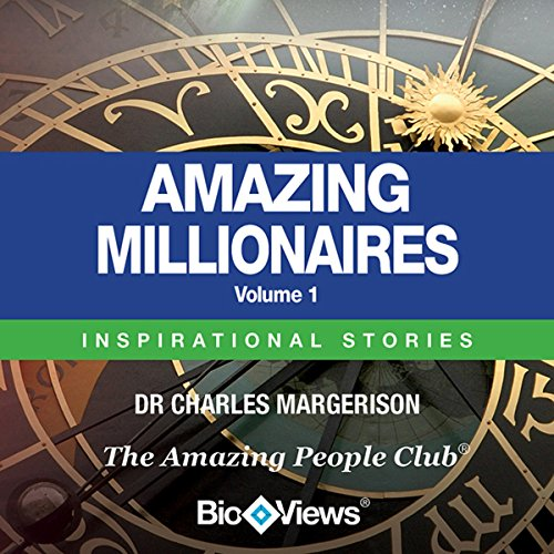 Amazing Millionaires, Volume 1 audiobook cover art