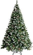 Christmas Décor Artificial Christmas Tree Artificial Christmas Tree Pine Tree with Metal Legs and Pine Cone Decoration Per...