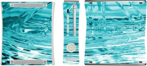 Ice Frozen Glass Freeze Vinyl Decal Sticker Skin by Moonlight Printing for Xbox 360