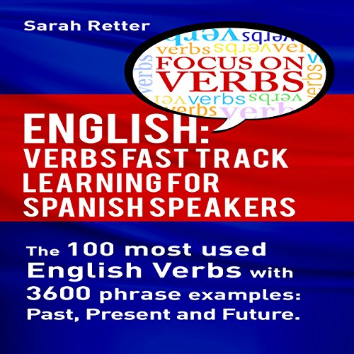 English: Verbs Fast Track Learning for Spanish Speakers cover art