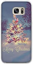 Happy New Year Merry Christmas Tree Snow Flakes Clear Phone Case Cover for Samsung Galaxy S3 S4 S5 Mini S6 S7 S8 Edge Pl,Style 13,for Samsung S6