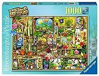 1000ピース ジグソーパズル 素晴らしい庭の棚 Grandioses Gartenregal (50 x 70 cm)