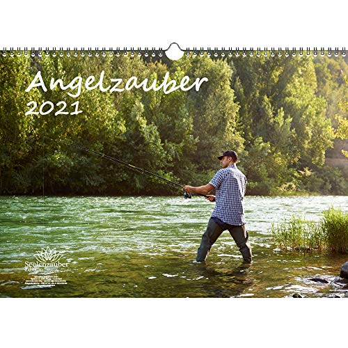 Angelzauber DIN A3 Kalender für 2021 angeln und fischen - Seelenzauber