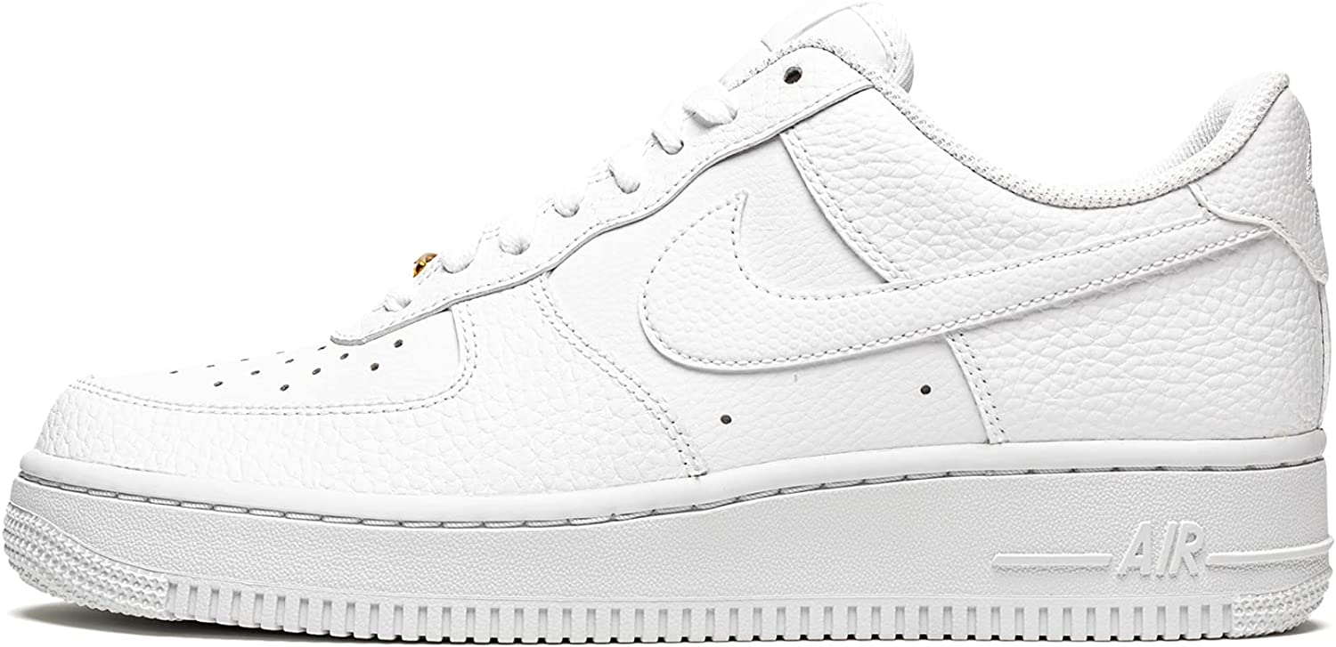 Nike High quality new Mens Air Force 1 Online limited product Low '07 S - CZ0326 Gold 101 Metallic White
