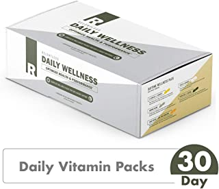 Daily Wellness Vitamin Packs by Live Relentless Nutrition — Vitamins to Promote Memory, Focus, Joint Health (30 - Individual Day & Night Packets)
