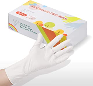 Nitrile Gloves 12 inch Long Kids Gloves Disposable, Nitrile Gloves for 4-10 Years - Latex Free, Food Grade, Powder Free - ...