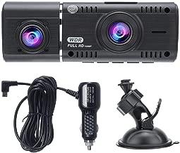 FOLOU Dual Lens 1080P HD Camera Car Vehicle DVR Cam Dash Video Driving Recorder, WDR, Cyclic Record, G-Sensor, Night Vision, Parking Monitor, etc.