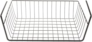 FITYLE Sturdy Storage Rack Under Shelf Cabinet Basket for Pants Clothes Food Organizer - Black, as described