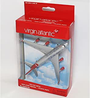 Real Toys VAA6264 Virgin Boeing 747 Toy Plane Diecast Model by Real Toys