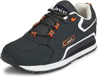 Hirolas Multisport Sneaker Shoes (8 UK/India (42 EU), Grey)