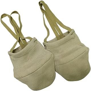 Elastics Material Design Rhythmic Gymnastics Knitted Soft Shoes,Ballet Dance Half Socks Shoes Skin Color