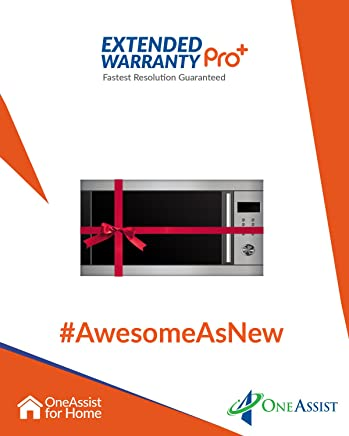 OneAssist 2 Years Extended Warranty Pro Plus plan for Microwaves Between Rs. 5,000 - Rs. 10,000