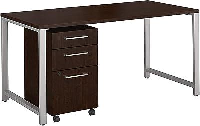Amazon.com: Flash Furniture Black Glass Computer Desk with
