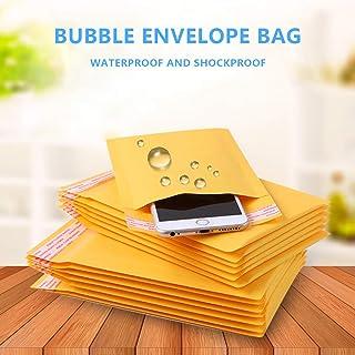 Upkg #000 4x7 inch Padded Envelopes Kraft Bubble Mailer Small Bubble Envelopes (Pack of 500)