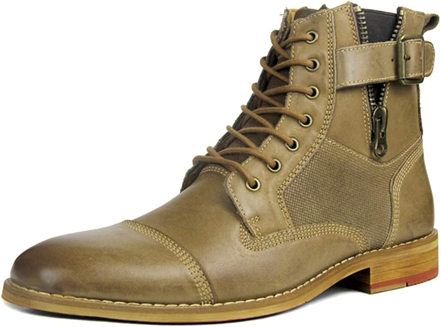 Ankle Boots Mens Full Grain Leather Formal Dress Martin Boot Desert Boot