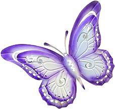 Happyyami 1Pc Motyle Ozdoba Ogród Wiszace Wisiorek Dekoracyjne Scienne Wisiorek Ogród Symulowane Motyle Rzemiosla Dekoracy...