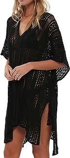 Beskie Bathing Suit Cover Up Biniki Swimsuit Crochet Beachwear Swimwear Dress