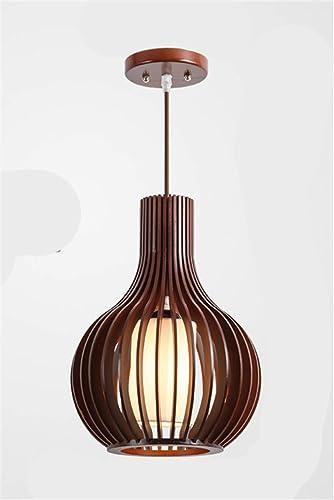 Lustre en bois Lustre simple à éclairage en bois, bcourir 5