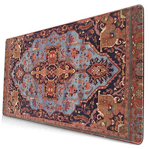 Juegos Alfombrillas de ratón Grandes Persas Tradicionales Isfahan Alfombra Vintage Alfombrilla de...