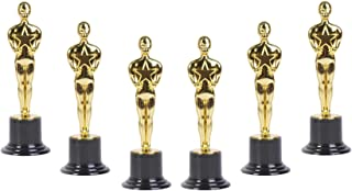 Golden Oscar Award Trophies – 6 inch Replica Oscar Statues – Realistic Oscar Trophy Awards for Birthday Parties, Celebrati...