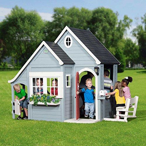 Discovery Backyard Spring Cottage Cedar Playhouse