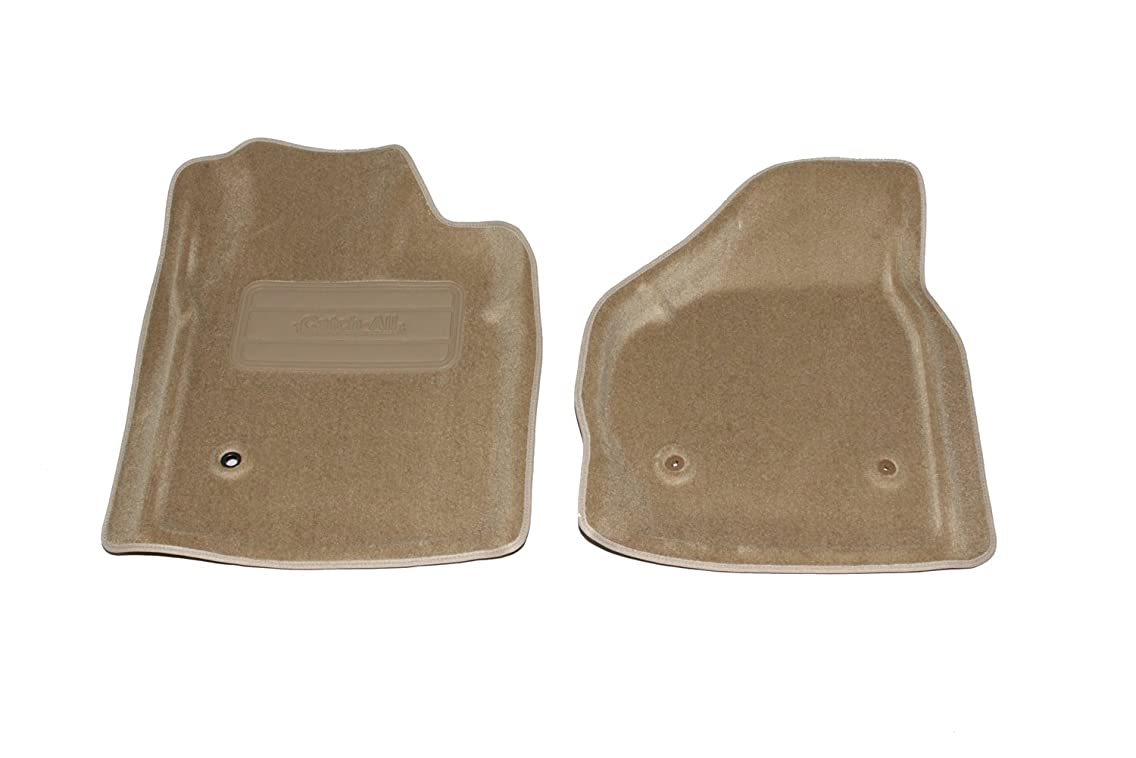 Lund 6020175 Catch-All Camel Front Floor Mat - Set of 2