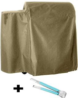 RunTo Heavy Duty 73700 Grill Cover Fits Pit Boss 700FB Wood Pellet Grills,Brown