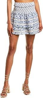 Womens Antoinette Skirt, L, Blue