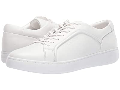 Calvin Klein Fasano (White Soft Leather) Men