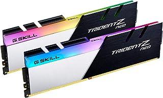32GB G.Skill Trident Z Neo DDR4 3600MHz PC4-28800 CL16 (16-19-39) RGB مجموعة قناة مزدوجة (2x 16GB)