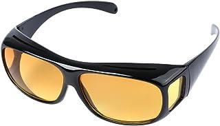 OUTEYE サングラス メンズレディース オーバーグラス 眼鏡の上からかけられる 近視眼鏡カバー ドライバー ナイトビジョン ゴーグル 防風砂 シェード眼鏡 UVカット 太陽鏡