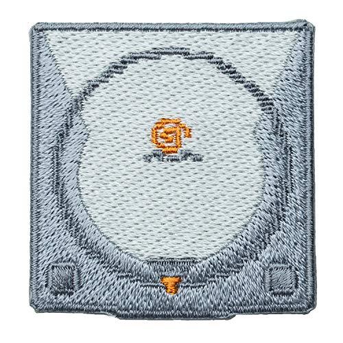 セガハードウェア 2way刺繍ワッペン<ドリームキャスト> 【オフィシャルライセンス商品】 グラフト ゲーミングライフ GGL026