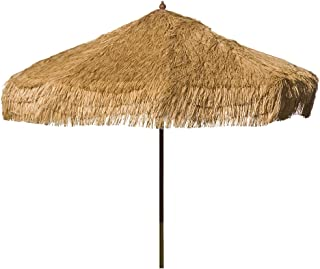 Heininger 1278 DestinationGear Palapa Tiki Whiskey 9' Patio Pole Umbrella