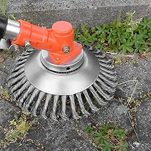 6/8 rasoir désherbeur tête tondeuse jardin tondeuse accessoires en acier au carbone brosse tondeuse tondeuse pour accessoires de jardinage durable-8\