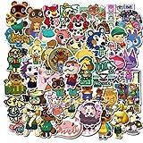 LSPLSP Pack Hot Game Animal Crossing Pegatinas Para Teléfono Ordenador Skateboard Pegatina Amiibo Animal Naklejki Amigos Club Pegatinas 50pcs